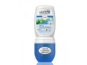 Deodorant roll-on Fresh 24h  - Lavera (Objem 50 ml)