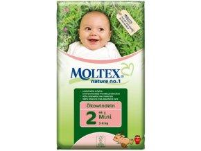 Detské eko plienky MINI 3 - 6 kg (Obsah 42 ks)