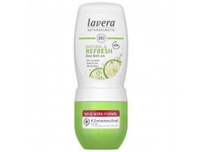 deodorant roll on refresh lavera