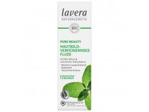 zjemnujuci fluid pure beauty lavera