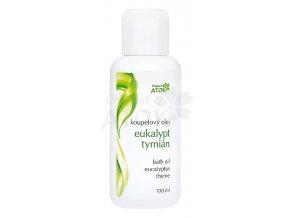 Kúpeľový olej Eukalypt-Tymián - Original ATOK (Obsah 100 ml)