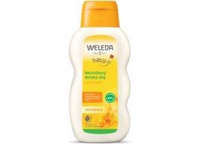 Nechtíkový detský olej Weleda