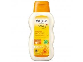 Nechtíkový dojčenský olej Weleda (Objem 200 ml)