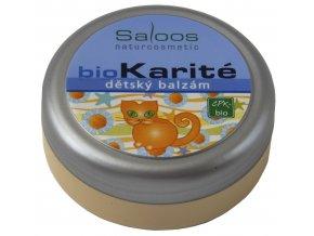Detský balzam Bio Karité Saloos (Objem 50 ml)