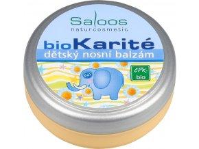 Detský nosový balzam Bio Karité Saloos (Objem 19 ml)