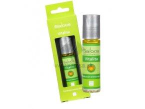 BIO Aroma roll-on Vitalita - povzbudzujúci, Saloos (Objem 9 ml)