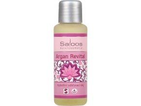 Argan Revital hydrofilný odličovací olej - Saloos (Objem 50 ml)
