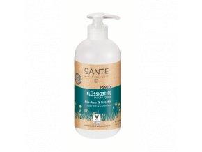 Tekuté mydlo BIO aloe a citrón - Sante (Objem 200 ml)