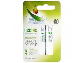 Balzam na pery Intensive Neobio (Obsah 2 x 4,8 g)