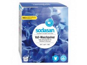 Prací prášok na biele prádlo - Sodasan (Obsah 1,2 kg)