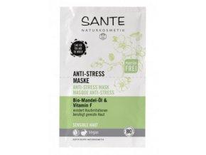 Anti stress pleťová maska - Sante (Objem 2 x 4ml)