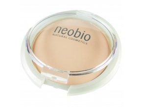 kompaktny puder light beige neobio