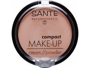 kompaktny make up 02 beige sante
