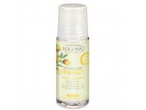Energy Deo roll on citrón & zázvor LOGONA (Objem 50 ml)