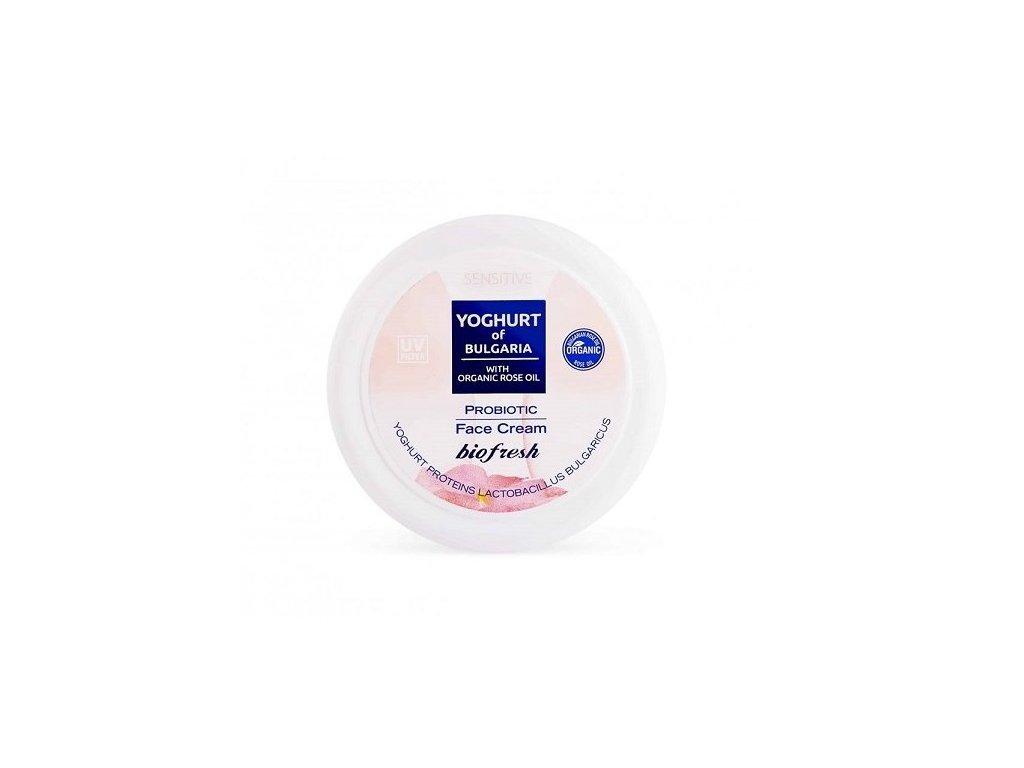 vyr 125 jogurtovy pletovy krem ruzovym olejem biofresh kosmetika bioruze hydrating face cream yoghurt of bulgaria