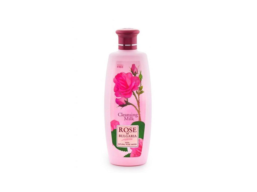 385 1 cistici mleko s ruzovou vodou rose of bulgaria 330 ml