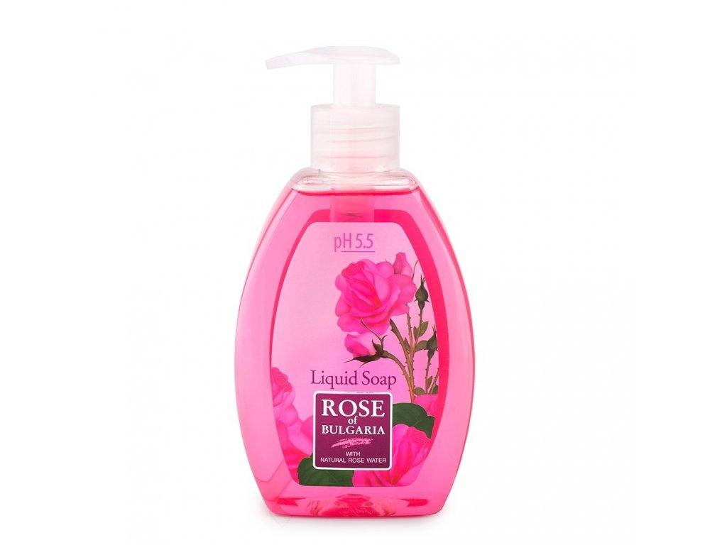rose of bulgaria liquid soap biofresh 1000