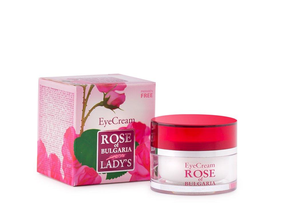 565 1 ocni krem s ruzovou vodou rose of bulgaria 25 ml