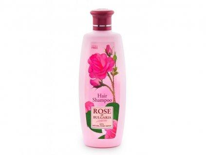 370 1 sampon pro vsechny typy vlasu s ruzovou vodou rose of bulgaria 330 ml