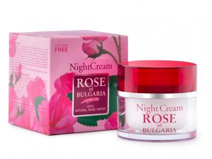 388 1 nocni krem s ruzovou vodou rose of bulgaria 50 ml