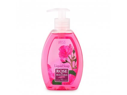 rose of bulgaria liquid soap biofresh 1000