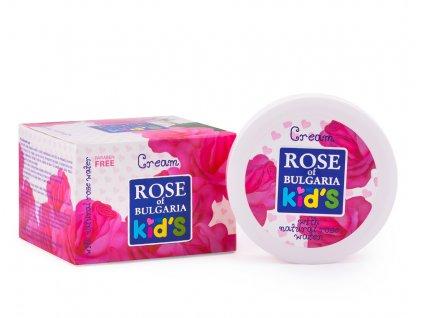 535 1 krem pro deti s ruzovou vodou rose of bulgaria 75 ml