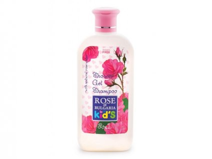 541 1 detsky sampon a sprchovy gel s ruzovou vodou rose of bulgaria 200 ml