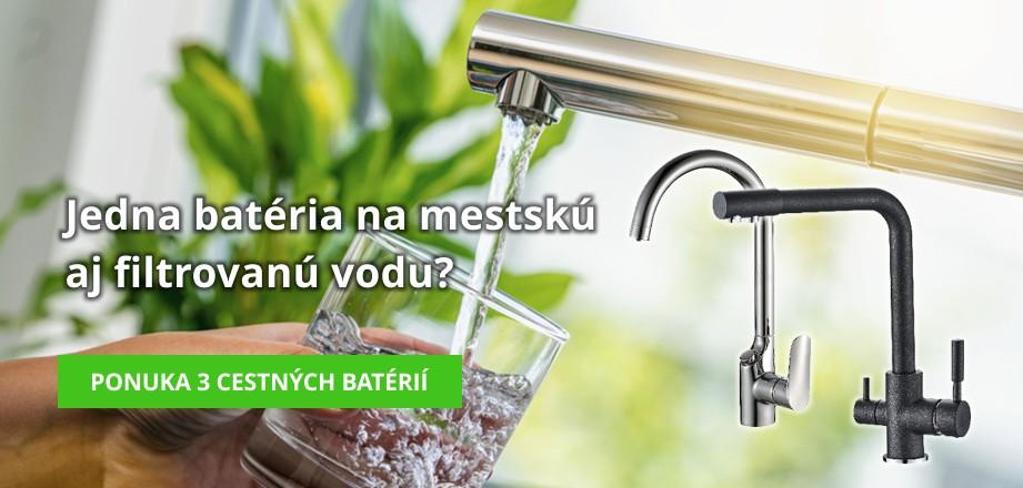 Vodovodné batérie