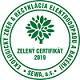 SEWA - zelený certifikát