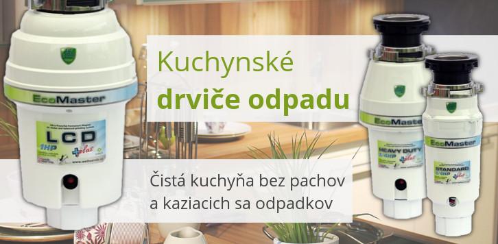Kuchynské drviče odpadu