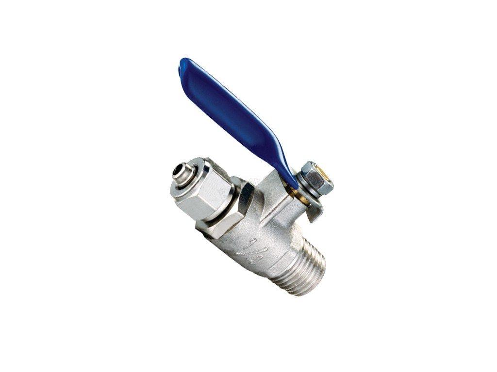 ventil vstupný kovový malý
