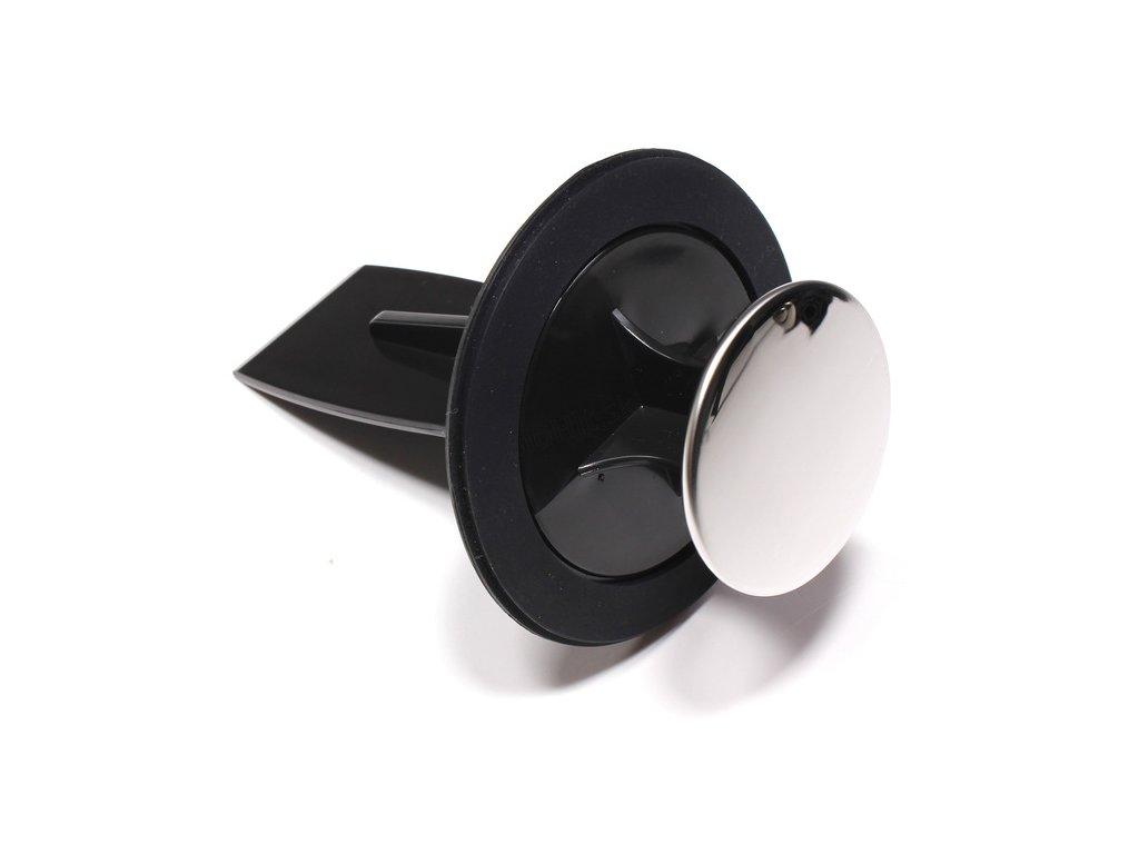 Viacúčelová zátka pre hrdlo EVO - black/chrome