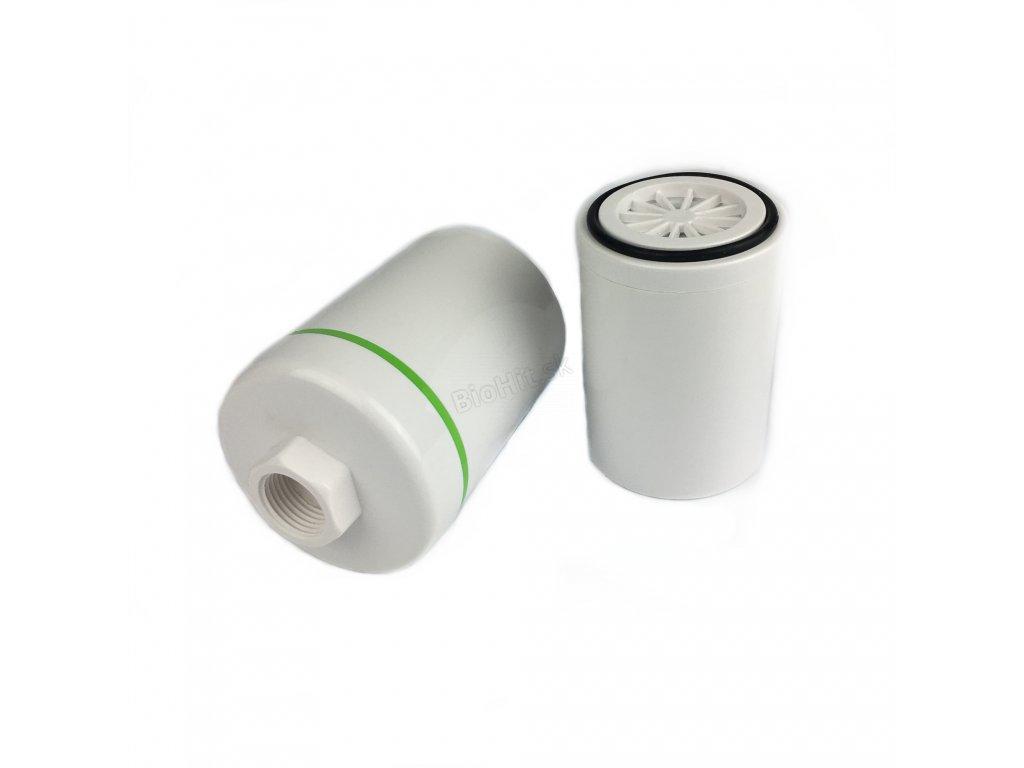 Sprchový filter zelený pásik