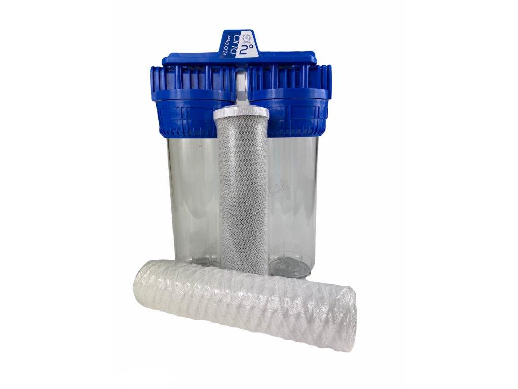DUO filter sediment auhlíkový filter