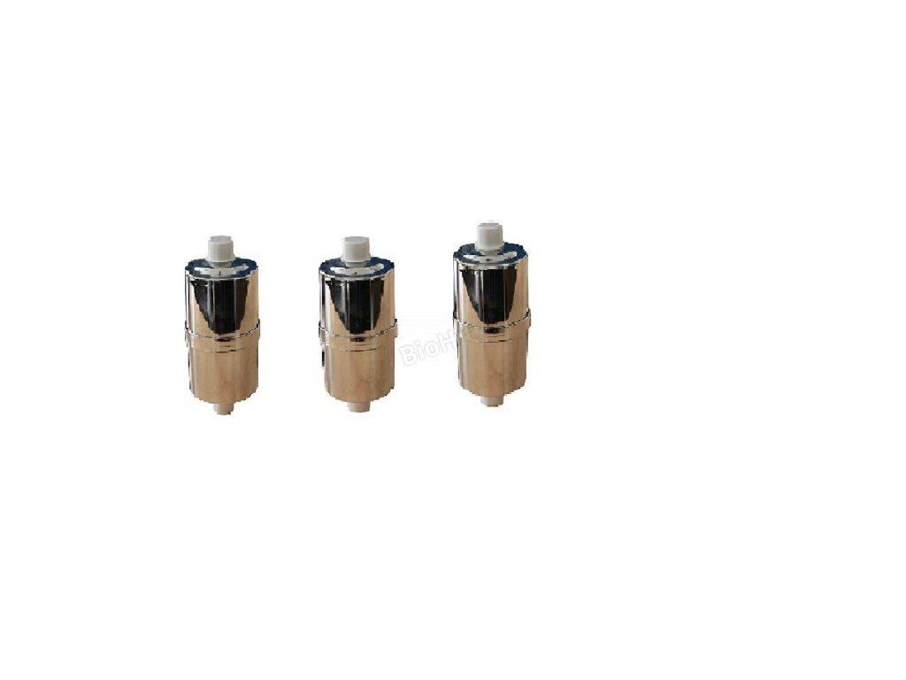 tri sprchové filtre