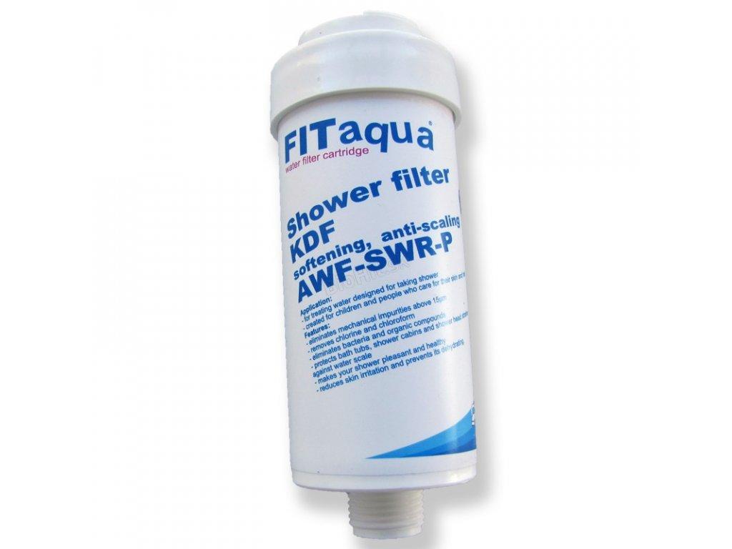 filtr prysznicowy bialy
