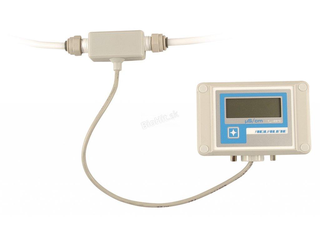 Prietokový konduktometer