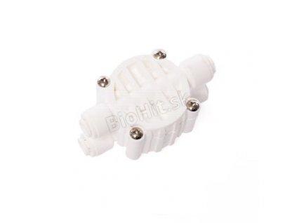 stvorcestny ventil pre osmotický filter