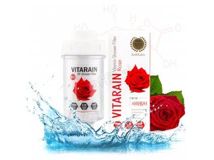 SW10 rose sprchový filter