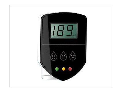 Domáci TDS  meter na 1/4 batériu reverznej osmózy