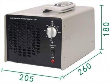 ozon generator rozmery