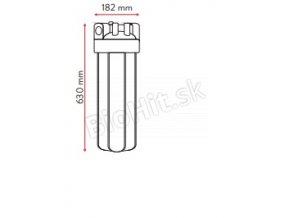 nádoba mechanického filtra bez vložky BIG BLUE