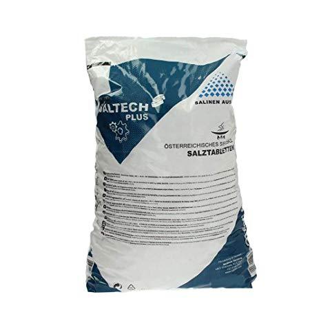 Soľ tabletovaná 25 kg - do zmäkčovača vody