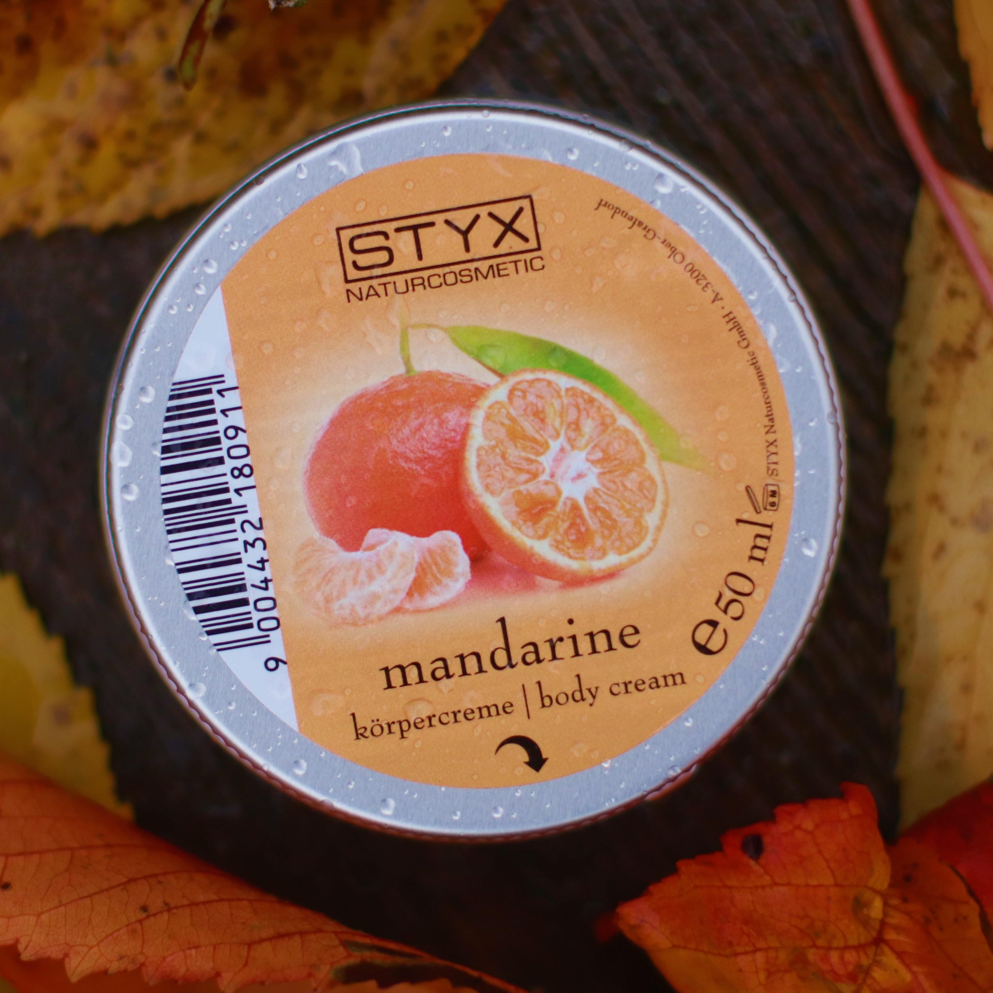 Mandarinkové povzbuzení do upršených dní