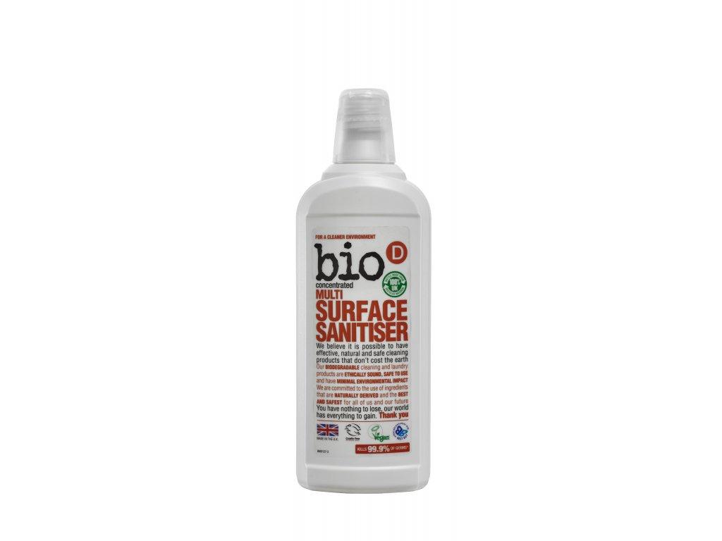 Bio D Multi Surface Sanitiser 750ml (BMS127)