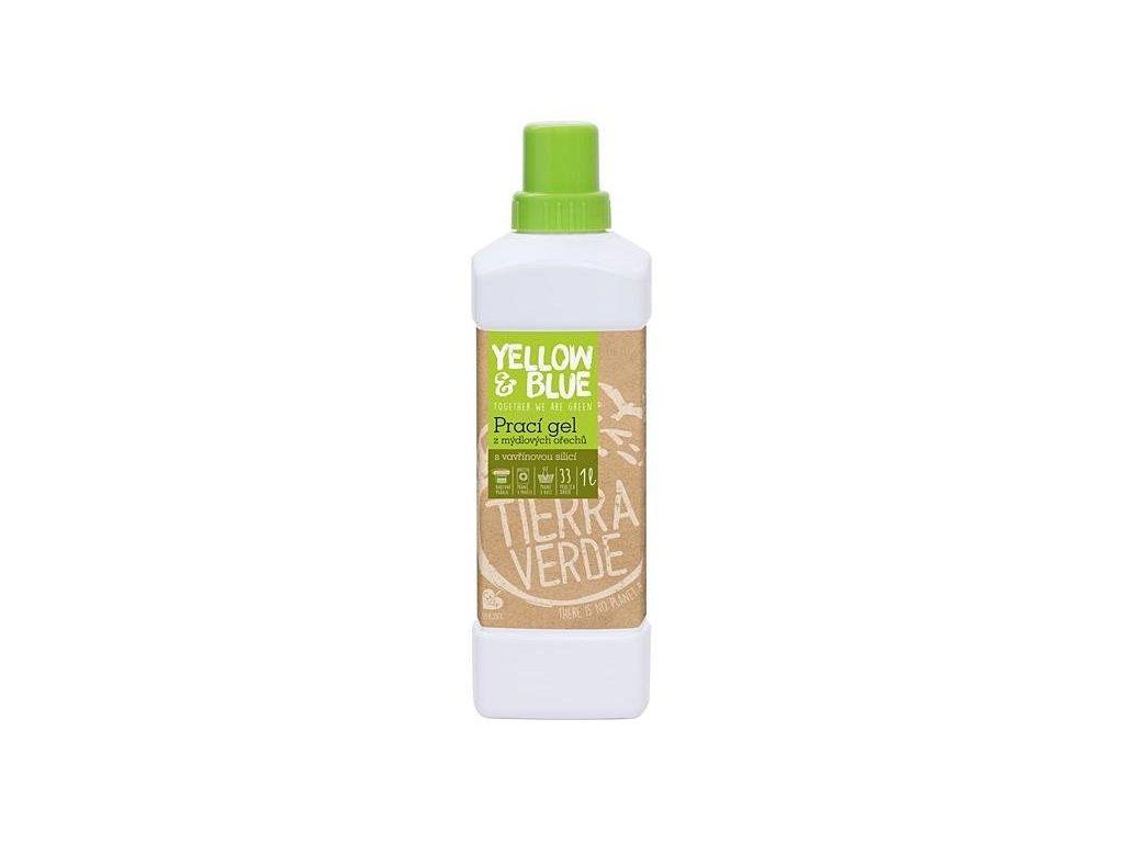 Yellow&Blue Prací gel s vavřínem (1 l) - z bio mýdlových ořechů