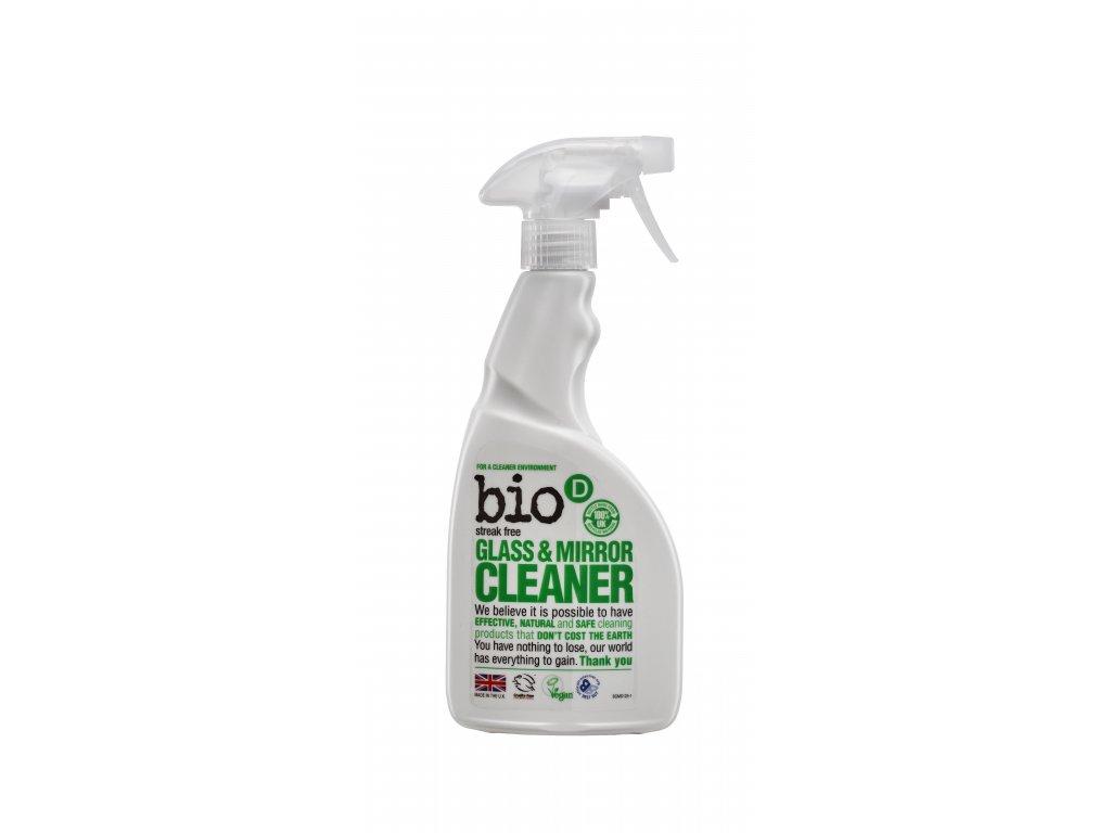 Bio D Glass & Mirror Spray (BBCS125)