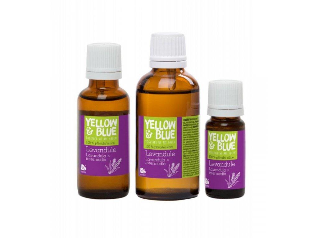 Yellow&Blue Levandulová silice (10 ml) - přírodní éterický olej