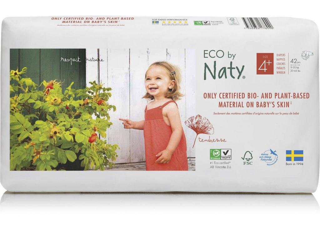 Naty 4+ maxi+ economy pack 9 20kg