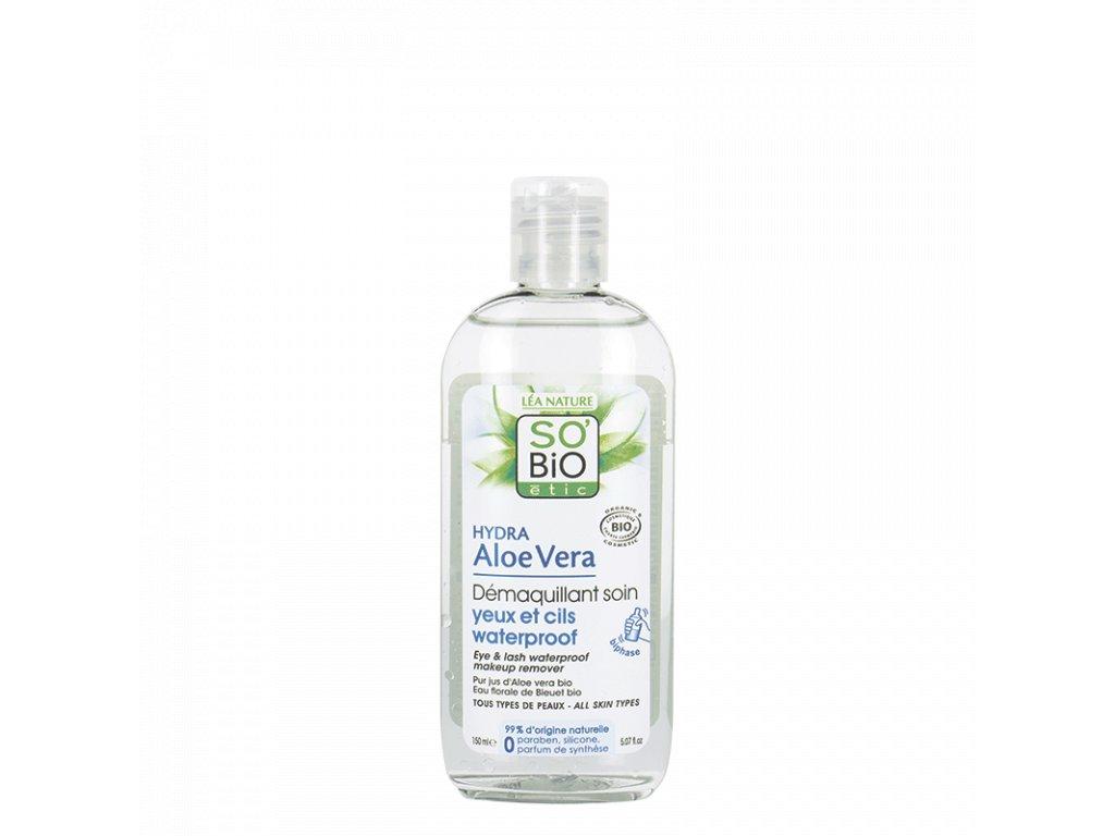 demaquillant yeux waterproof aloe so bio etic